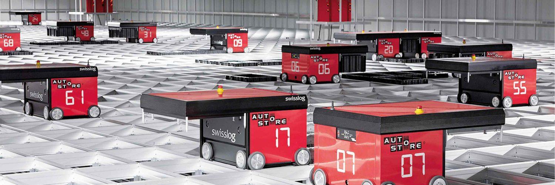 AutoStore robôs